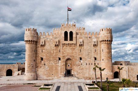 fortaleza en Alejandria Egipto