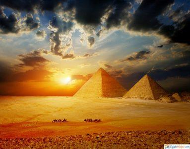 piramides de giza en el cairo